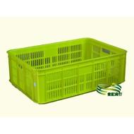 塑膠 蘆筍籃,搬運籃,儲運籃,搬運箱,儲運箱 3格/2格/1格