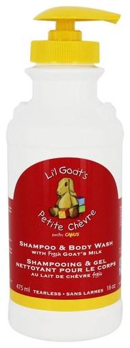 【彤彤小舖】Canus 小山羊初乳 洗髮沐浴乳 475ml  /  Canus Li' l Goat 's 新鮮山羊奶初乳柔膚皂2入組 (90g X 2) 原裝進口