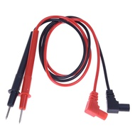 """1 Pair 28"""" anti-slip grip Multimeter Test Leads Black and Red wires probes digital multimeter feelers for multimeter wire tips C Store"""