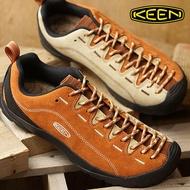 ├登山樂┤美國 KEEN Jasper Rocks X Thc 十週年紀念款 女健行鞋-卡其/橘 # 1019482