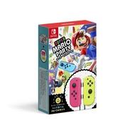 日本原裝進口 全新 NS 原版遊戲,超級瑪利歐派對+Joy-Con 手把同捆組 日規包裝版(可更新中文字幕)