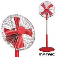 日本松木 MATRIC Magic 魔幻紅12吋 金屬立扇 MG-AF1202D