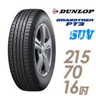【限時優惠價】【登祿普】日本製造 GRANDTREK PT3 休旅車專用輪胎_ 215/70/16(適用於Outlander等車型)