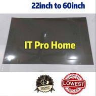 PRO 🏠Polarizer TV Film  Polarizing LCD Led Repair Tv Replacement Film 22in to 60inch