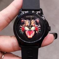 正品 GUCCI古馳手錶 男女手錶 G-TIMELESS 中性百搭款 gucci老虎logo 腕錶