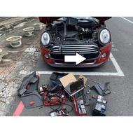 MINI COOPER 汽車電池更換 505電池工坊 20分鐘快速更換 BOSCH AGM 70AH