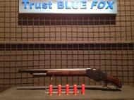 WINCHESTER M1887 Shotgun Lever Action ลูกซองระบบคานเหวี่ยง ปืนในหนังระดับตำนาน   คนเหล็ก Terminator 2   ปัดสีเก่าคลาสสิค Gas version คัดปลอก Shell Ejecting  BB Gun Made in China