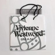 專櫃正品 Vivienne Westwood Man 精品 名牌 紙袋