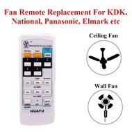 Universal Fan Remote Replacement For KDK Panasonic Elmark Ceiling Fan and Wall Fan