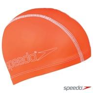 SPEEDO 兒童 合成泳帽 Pace 亮橘