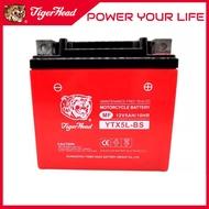 Tiger Head Motorcycle Batteries 12V Motolite Battery(YTX4L-BS, YTX5L-BS, 12N5-BS)