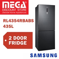 SAMSUNG RL4354RBABS 435L 2 DOORS REFRIGERATOR / FRIDGE / FREE GIFT BY AGENT / LOCAL WARRANTY