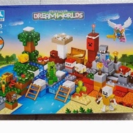 ・ AC Lego Minecraft Treasure Island & Village Farm House My World 5403 Jumbo ー