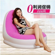 Lazy sofa single lunch break inflatable sofa bed nap simple lazy chair sofa chair single small sofa