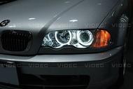 DIY商城  BMW E46 大燈 魚眼 光圈 總成 搭配 HID 效果100分