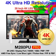 [Free Express] PRISM M280PU PRO 28 UHD 144Hz 4K 3840x2160 AMD FreeSync 1ms Gaming Monitor
