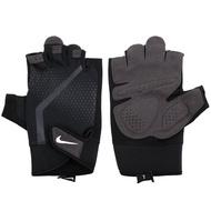 NIKE 男健力手套重量訓練 健身 半指手套【NLGC4945】≡排汗專家≡
