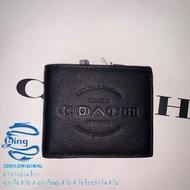 ใหม่ Coach แท้ F24647 กระเป๋าสตางค์ กระเป๋าสตางค์ผู้ชาย Wallets กระเป๋าเงิน กระเป๋าตัง กระเป๋าสตางค์ใบสั้น
