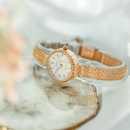Japanese agete light luxury wheat watch female ins style Japanese watch female thin strap small and simple temperament s