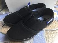 รองเท้าผ้า LEO STAR รองเท้าคัชชูผ้านิ่ม รองเท้าคัชชูผ้ายืด รองเท้าคัชชูแม่บ้าน รองเท้าผ้าใบสีดำคนทำงาน รองเท้าคนสูงวัย
