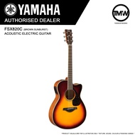 PRE-ORDER Deliver (Nov/Dec) - Yamaha FSX820C Electric Acoustic Guitar (Brown Sunburst) - Absolute Piano - The Music Works Store GA1