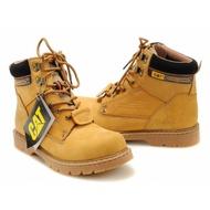 工裝鞋【工廠直銷】35-45碼 CAT冬季情侶登山鞋马丁靴安全鞋高帮工装棉鞋英伦安全靴