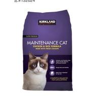 好市多 科克蘭 紫包 貓飼料 雞肉&米配方乾貓糧 11.34公斤