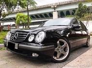 3500交車專案 2001年 賓士 W210 E240 正AMG兩片式鋁圈 中尾段 經典車款 大包
