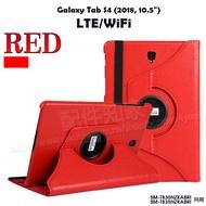 【旋轉、斜立】Samsung Galaxy Tab S4 10.5吋 SM-T830/T835 荔枝紋旋轉皮套/翻頁保護套/支架斜立展示-ZW