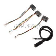 4P4C RJ9/RJ10 to 3.5mm Female Headset Adapter Cable Stereo Converter 40CM