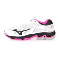 (女) MIZUNO WAVE LIGHTNING Z4 排球鞋-美津濃 白粉灰黑