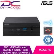 ASUS Mini PC PN51-B5096ZD (AMD Ryzen 5 5500U 8GB Ram 512GB NVMe Radeon™ Vega Graphics Win 10 Home