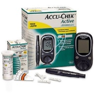 ACCU CHEK Active Glucose Monitor with 10 Test Strips