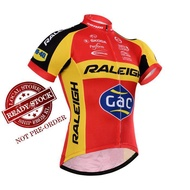 READY STOCK Raleigh Cycling Jersey - JR535 NEW Racing Downhill Jerseys Cycling Jersey Mountain Bike Motorcycle Jerseys Clothing Cycling Bicycle Outdoor Jersey/Pant/Set