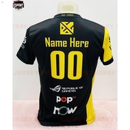 ♂BREN ESPORT MOBILE LEGENDS JERSEY (PERSONALIZE CUSTOMIZE NAME)