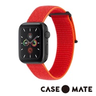 【CASE-MATE】Apple Watch 38-40mm(尼龍運動型舒適錶帶 - 霓虹橘)