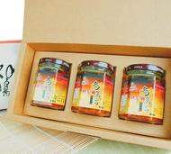 烏魚子干貝XO醬三瓶裝禮盒 (180g±5%) 微辣