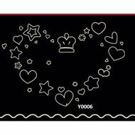 【MIA小鋪】愛心 星星 夜光 壁貼 (Y0006)