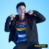【NAUTICA】COMPETITION長袖襯衫式外套(黑色)