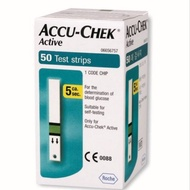Accu Chek Active Blood Sugar Check Strips