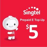 Singtel Prepaid eTopUp SGD5