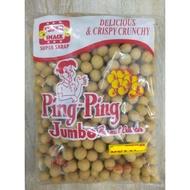 500 grams jumbo peanut cracker pingpjng brand garlic flavor for sale ( nagaraya )