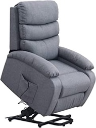 Lift Electric Recliner Chair, Power Lift Stand Assistance Chair Recliner for Elderly, Microfiber Adjustable Ergonomic Design Sofa Couch