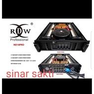 POWER AMPLIFIER RDW ND18PRO/ND18 PRO/ND 18PRO 4CH X 1800 WATT ORIGINAL