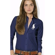 🔥進口高端 女款襯衫 大馬 保羅RL POLO 女生 襯衫 大馬襯衫 POLO襯衫 長袖襯衫 高支全棉彈力款