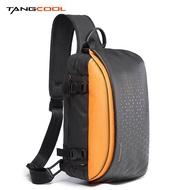 Tangcool แฟชั่นผู้ชายสลิงกระเป๋ากันน้ำกระเป๋าเป้สะพายหลัง Crossbody หน้าอกแพ็คเหมาะกับ 9.7 นิ้ว iPad