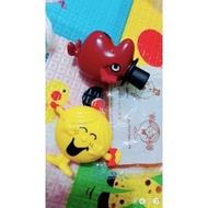 小叮噹公仔 方向盤玩具 麥當勞安全玩具 清潔家事模型家家酒玩具