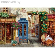 №✵❏✔Cobble Hill  GAME Jigsaw Puzzles usa import 1000PCS Adult puzzle Street Cafe11111111