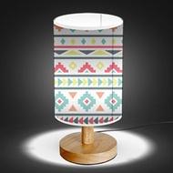Wood Base 5W LED USB Decoration Desk/Table/Bedside Lamp [ Oriental Modern Native ]