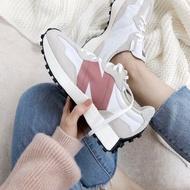【日本海外代購】New Balance NB 327 乾燥 玫瑰粉 紅豆色 白灰 尼龍 麂皮 休閒 復古 運動 慢跑 女鞋WS327CD
